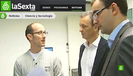 LaSexta noticias screenshot VLC Photonics